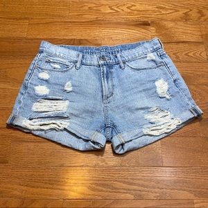 Articles Of Society Hendrix Distressed Shorts